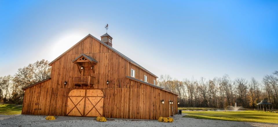 Experience the barn that we built for weddings, anniversaries, and all of your other special occasions!